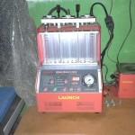 Tester palivových trysek