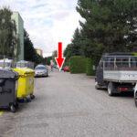 Cesta k nové provozovně v Paskově